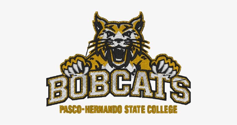 Mens Polo Carbon Bobcat Logo Pasco Hernando State College Bobcats