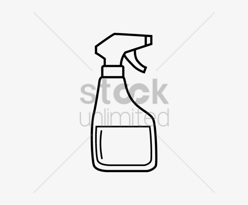 Water Spray Drawing At Getdrawings Easy To Draw Spray Bottle