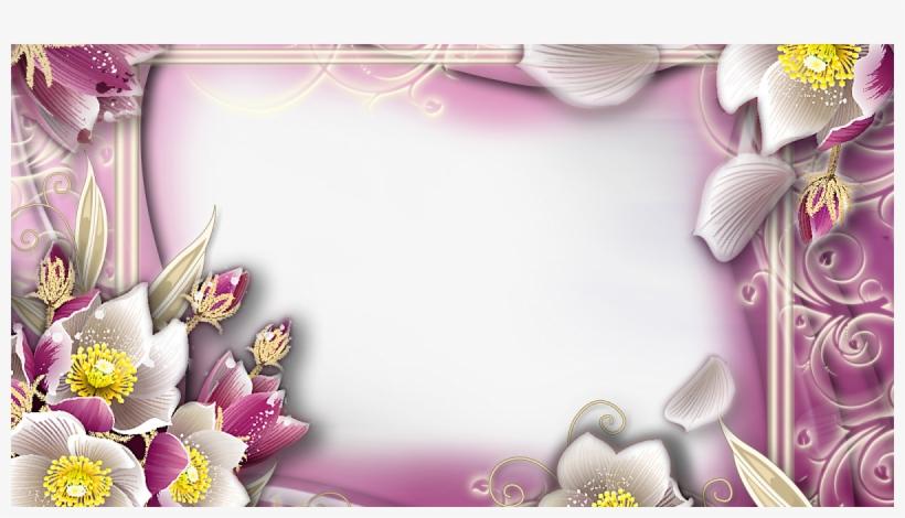 Http - //syedimranrocks - Blogspot - Com Toolbar Creator - Flower Frames For Photoshop, transparent png #987013