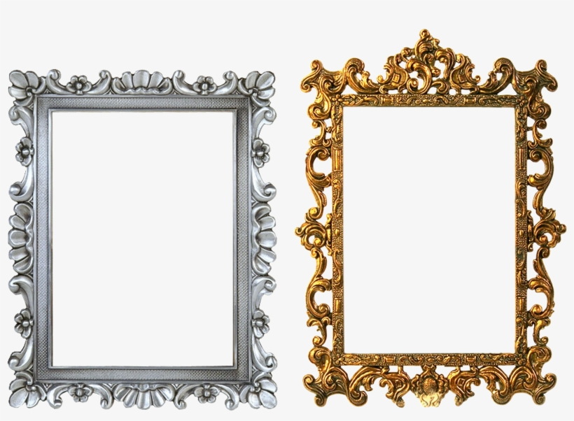 Gold Framing, Round, Texture, Object, Graphical, Hq - Gold Frames Design Png, transparent png #989499