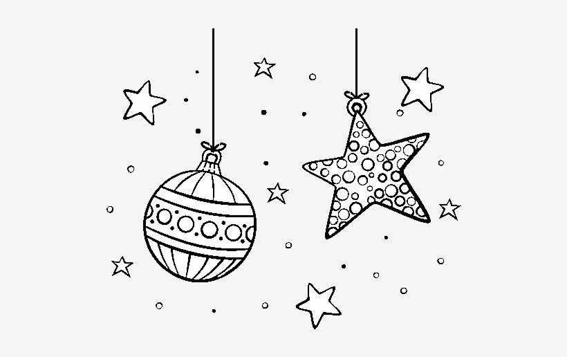 Dibujo De Adornos De Navidad Para Colorear Adornos De Navidad