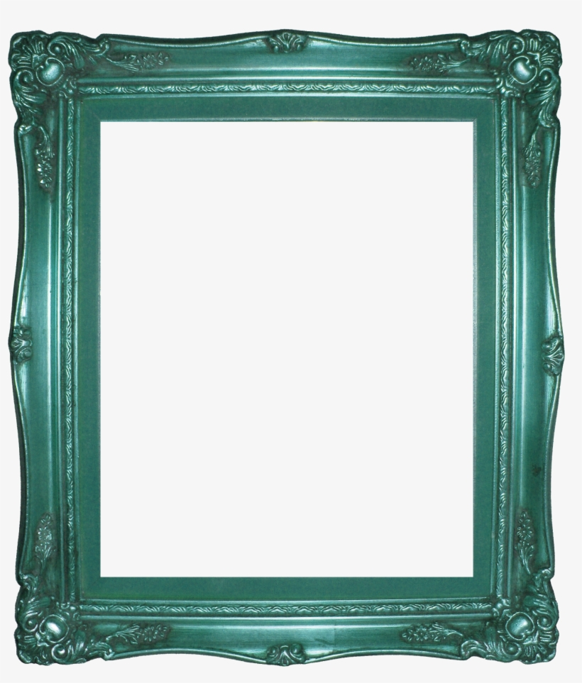 Lots Of Awesome Vintage Ornate Frames Right Click And - Green Vintage Frame Png, transparent png #989730