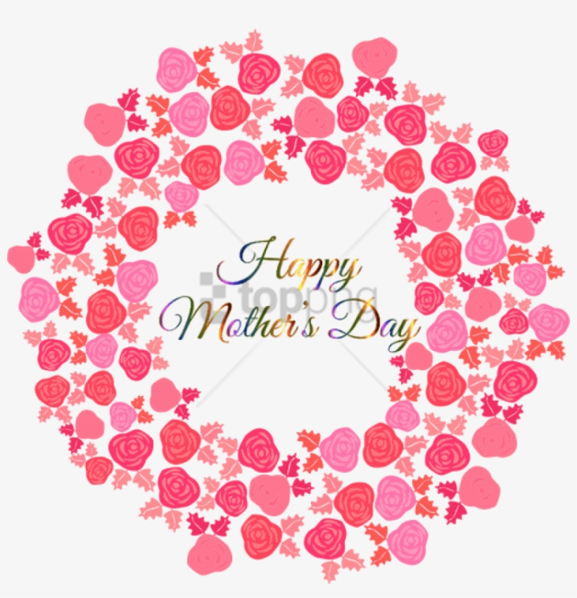Free Png Download Bouquet Of Pink Flowers - Happy Mothers Day Pdf, transparent png #9804534