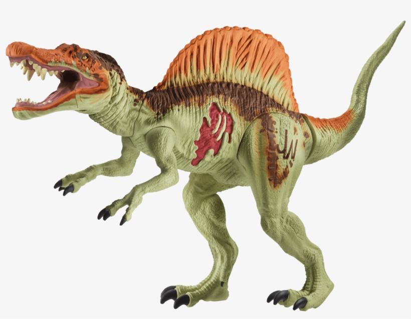 Jurassic World Basic Figure Spinosaurus - Brinquedos Jurassic World Indominus Rex, transparent png #9809476