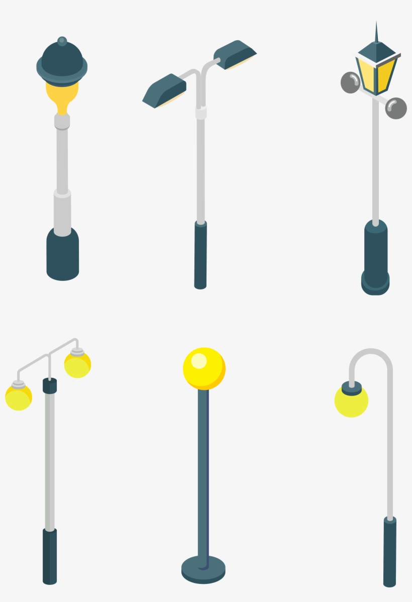 Street Light Bulb Sun Png And Vector Image - Street Light, transparent png #9817458