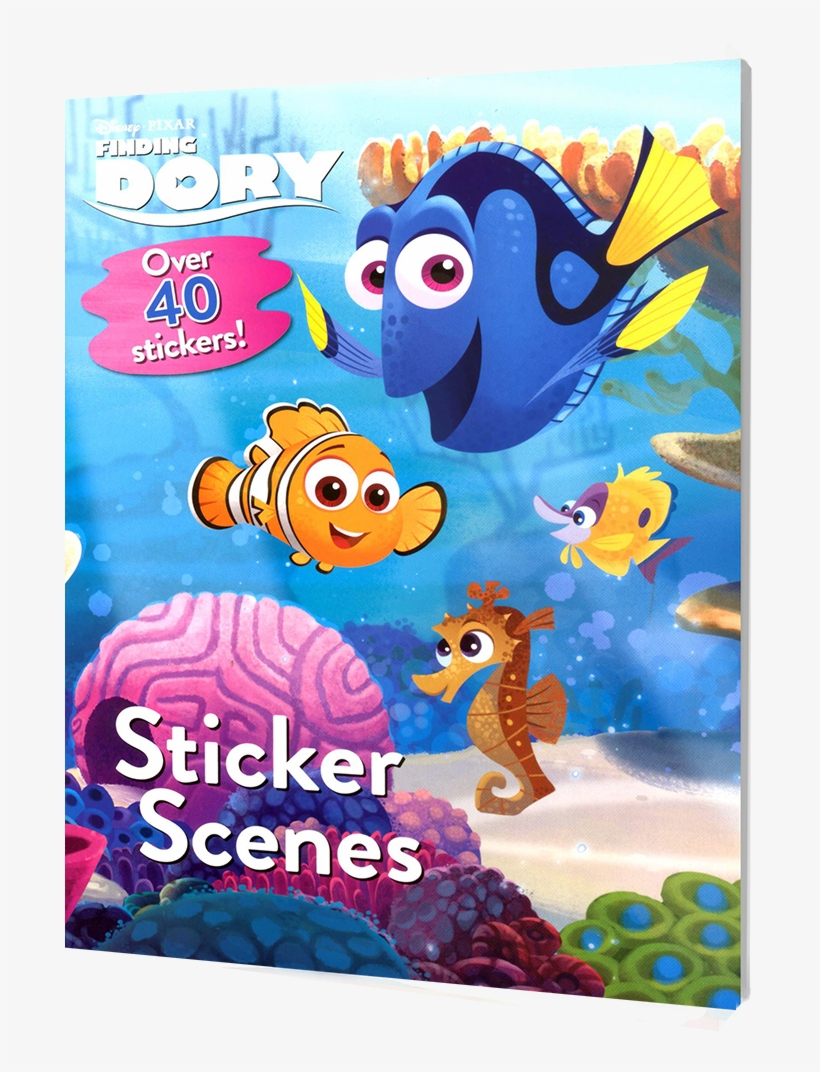 Picture Of Disney Sticker Scenes - Finding Dory, transparent png #9823719