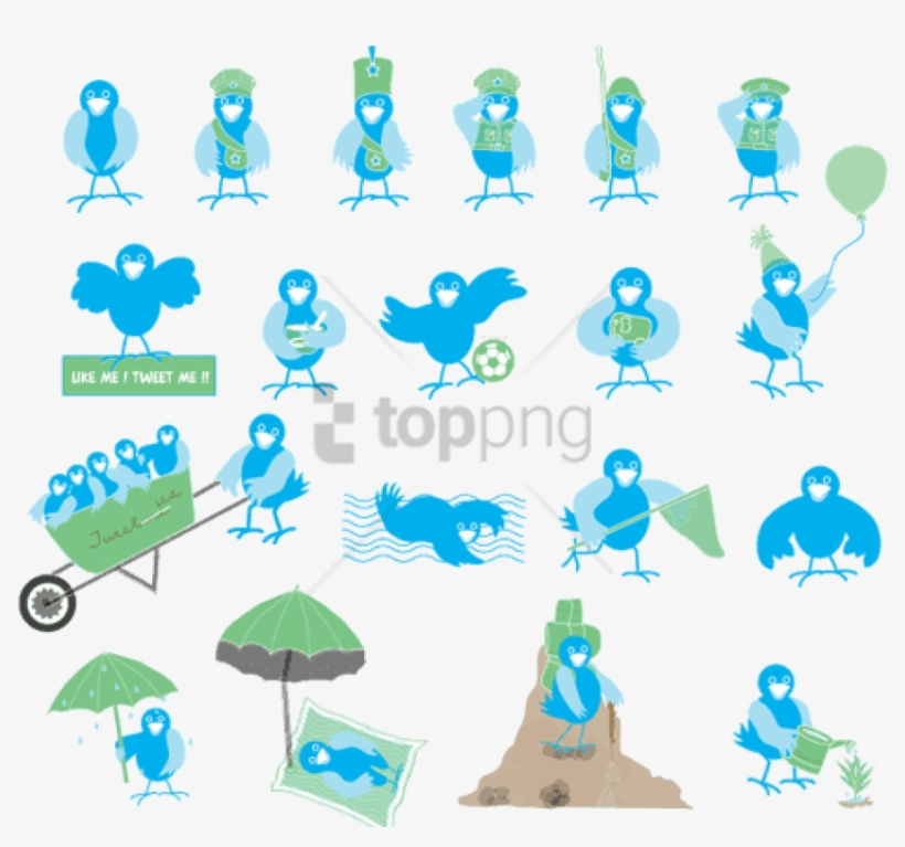Free Png Twitter Bird Icon Png Image With Transparent - Twitter Bird Icon, transparent png #9823898