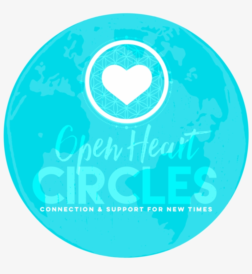 Open Heart Circles Intend To Co-create A Field Of Unconditional - Circle, transparent png #9834136