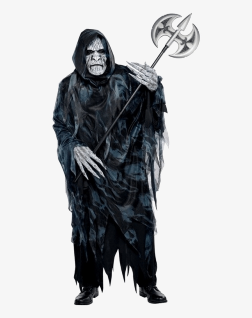 Adult Male Soul Taker Halloween Costume - Soul Taker Costume, transparent png #9853024