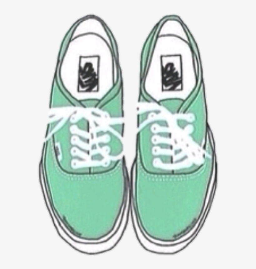 #verde #vans #champion #zapatos #zapatillas #tumblr - Green Instagram Dividers, transparent png #9858858