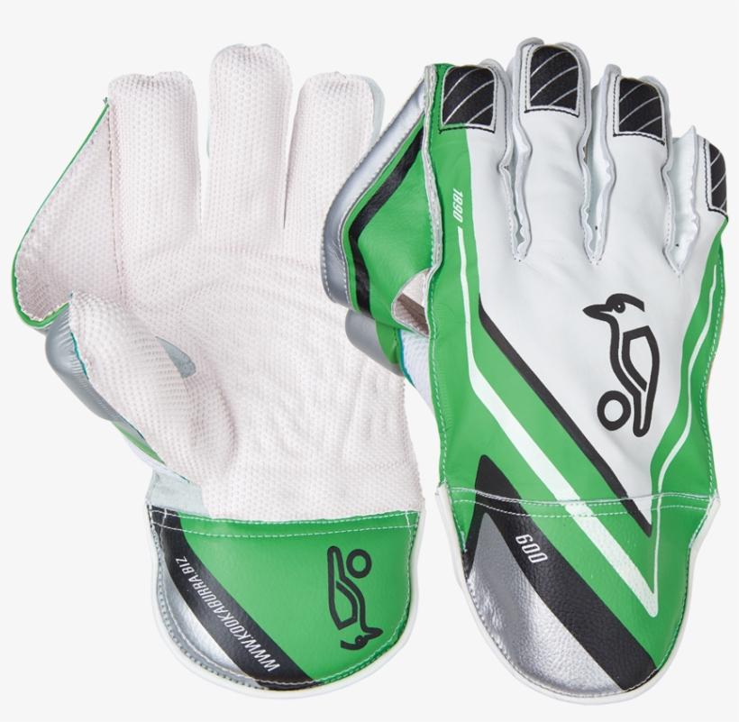 Kookaburra Pro 500 Wicket Keeping Gloves Youth Size - Kookaburra 600 Wicket Keeping Gloves, transparent png #9867109