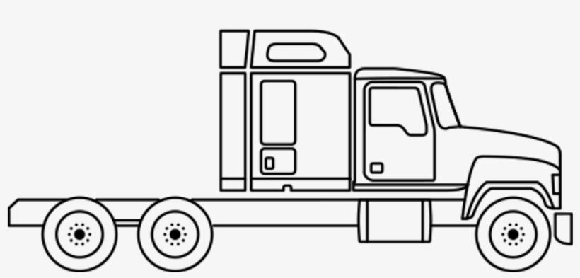 Banner Royalty Free Library Mack Pinnacle Series Mack - Draw A Mack Truck, transparent png #9868006