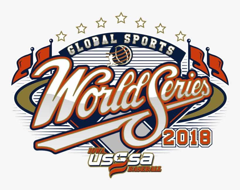 2018 Iowa Global Sports World Series - World Series, transparent png #9869028