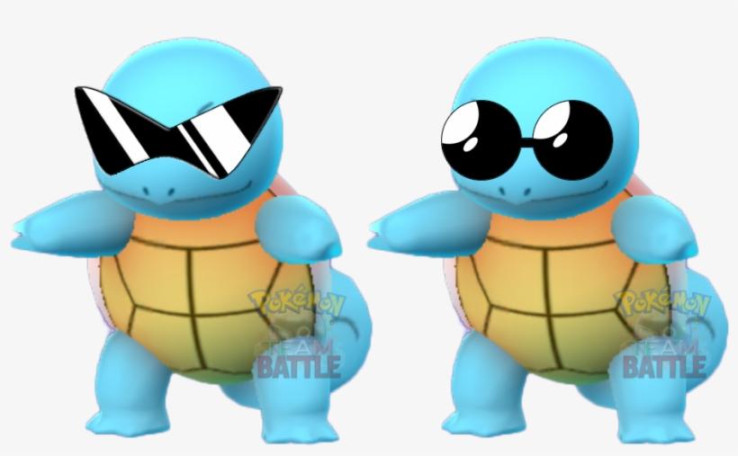 Squirtle Con Gli Occhiali Pokemon Go, transparent png #9869527