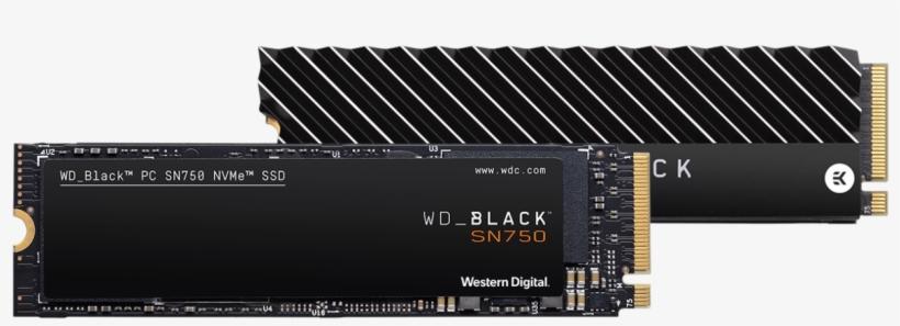 Wd Black Sn750 Nvme Ssd, transparent png #9874373