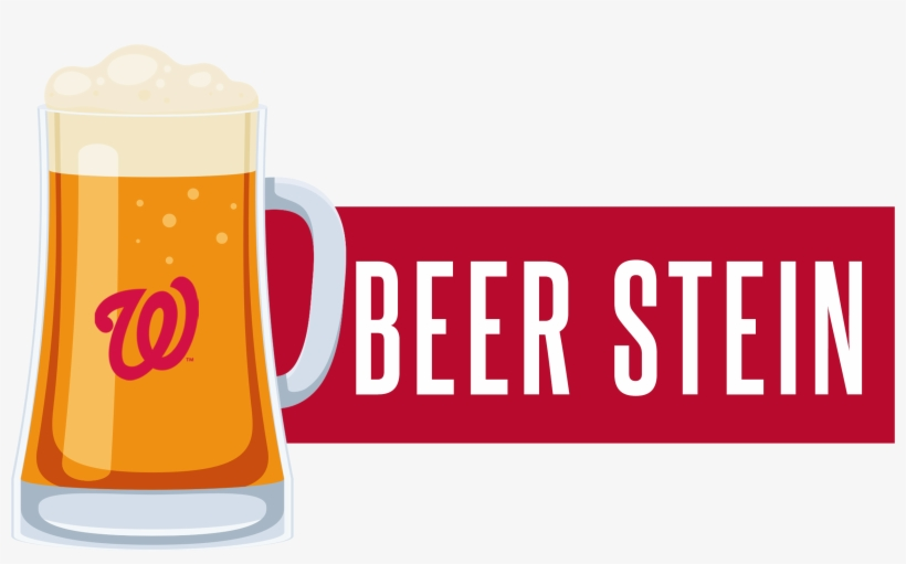 Nationals Beer Stein - Washington Nationals, transparent png #9876078