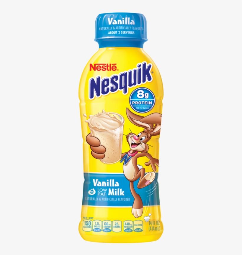 Prairie Farms Whole Milk Gallon - Nesquik Chocolate Milk, transparent png #9876752