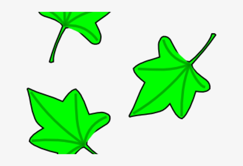 Grapes Clipart Tree - Clip Art Leaves Falling, transparent png #9877702