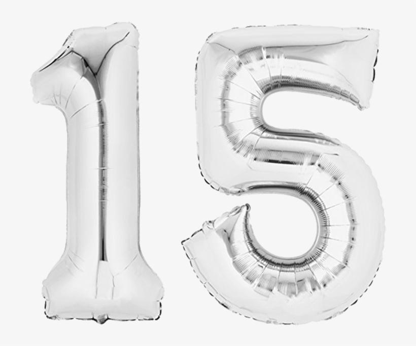 Cumpleaños De Globo De Papel Globo 80 Cm Plata Letras - Rose Gold Number Balloon 5, transparent png #990693
