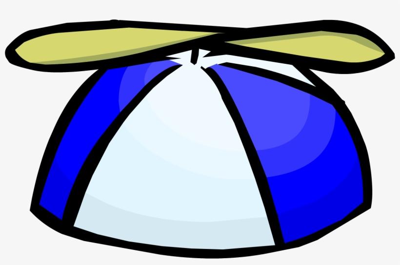 a502ba5f6e213 Blue Propeller Cap - Club Penguin Propeller Hat - Free Transparent ...