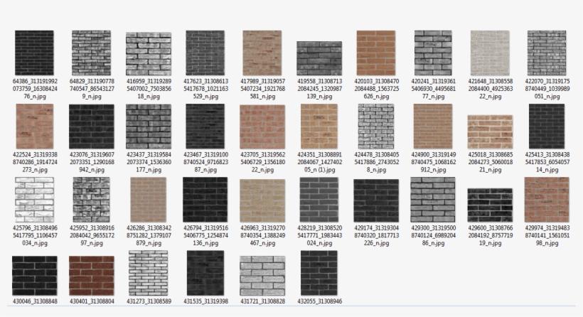 Las Texturas De Ladrillos Se Colocan En Cursos Y Numerosos - Texturas De Ladrillos Para Bodegas, transparent png #991365
