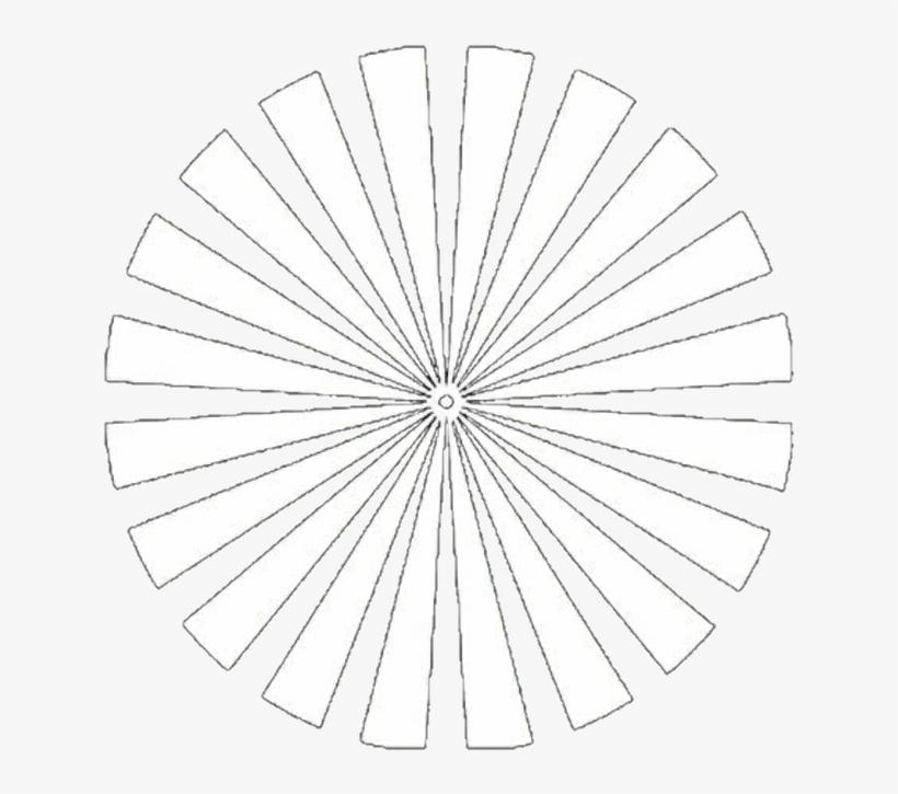 Circulo Png Rayas Blanco Portada Tumblr - Overlays Icons