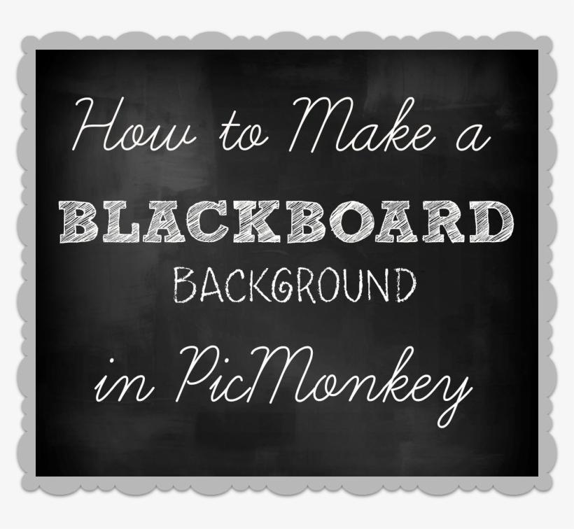 How To Make A Chalkboard Or Blackboard Background In - 'my Class Rocks' Chalkboard Teachers Card, transparent png #992972
