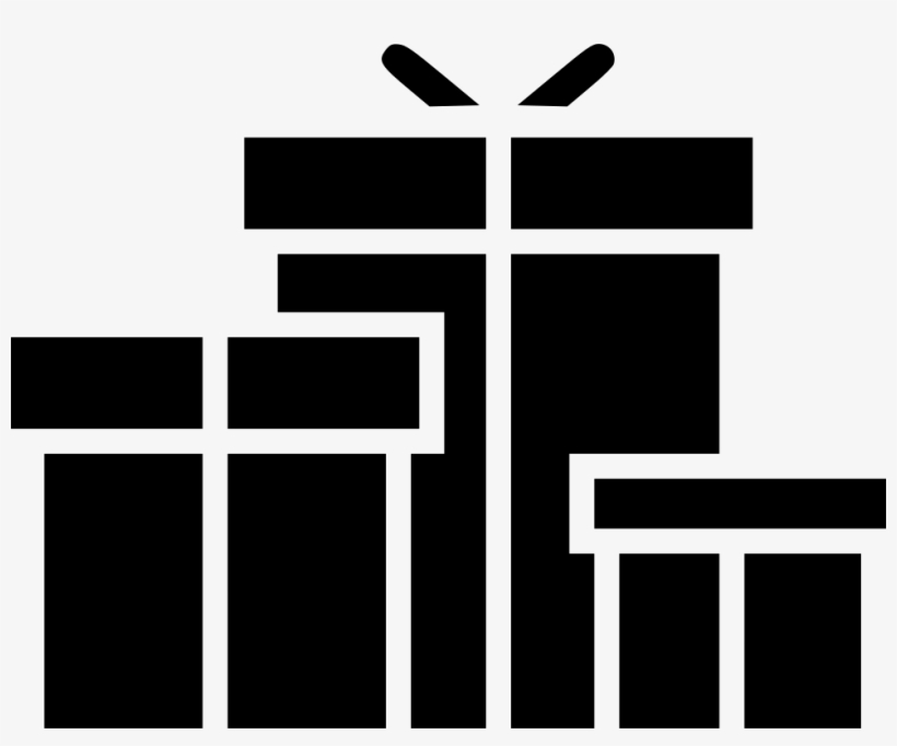 Gifts Gift Box Present Presentation Christmas Birthday - Gifts Icon Png, transparent png #998123