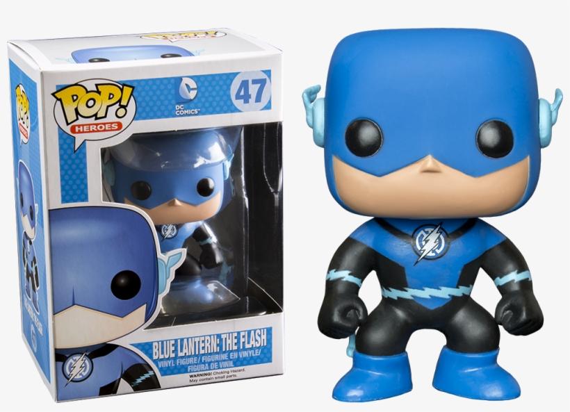 Blue Flash Pop Vinyl - Blue Lantern Flash - Pop! Vinyl Figure, transparent png #999551