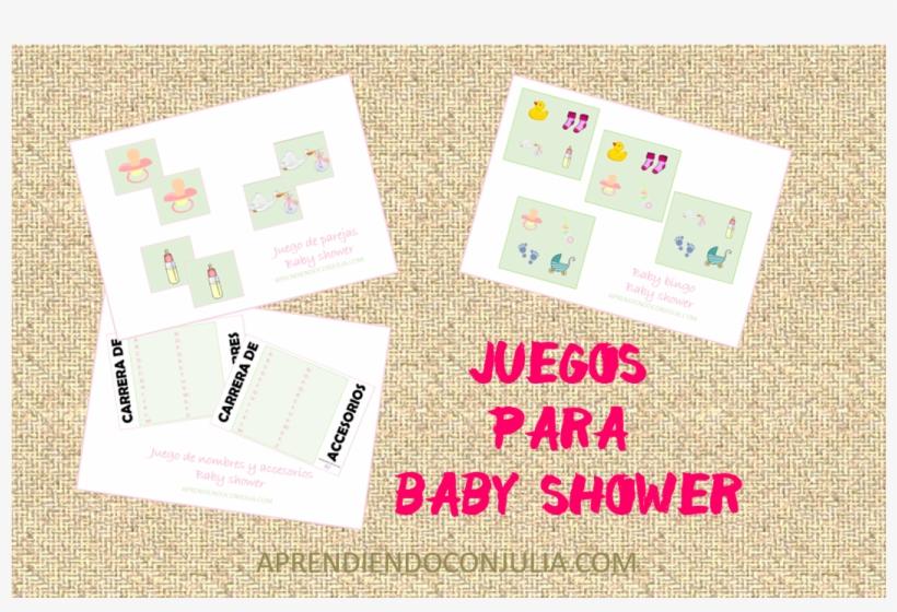 Juegos Para Baby Shower Paper Free Transparent Png Download Pngkey