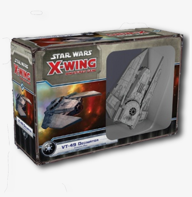 X Wing - Star Wars X Wing Miniatures Game Decimator, transparent png #9909228