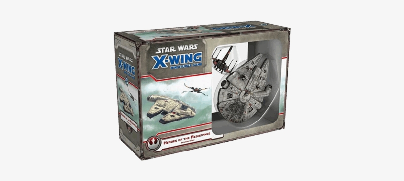 X-wing Miniatures Game - Star Wars X Wing Heroes Of The Resistance, transparent png #9909324