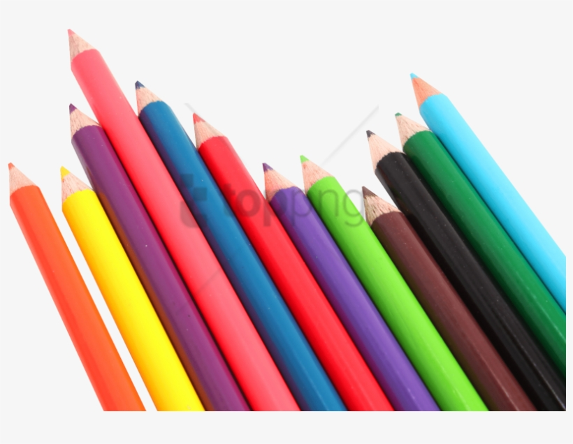 Free Png Color Pencil Png Png Image With Transparent - Pens And Pencils Png, transparent png #9915088
