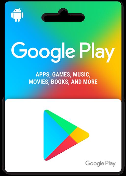 Google Play Gift Cards - Google Play Gift Card (530x733), Png Download