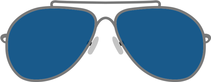 Vector Sunglass Png Clipart - Sunglass Png Download (1200x628), Png Download