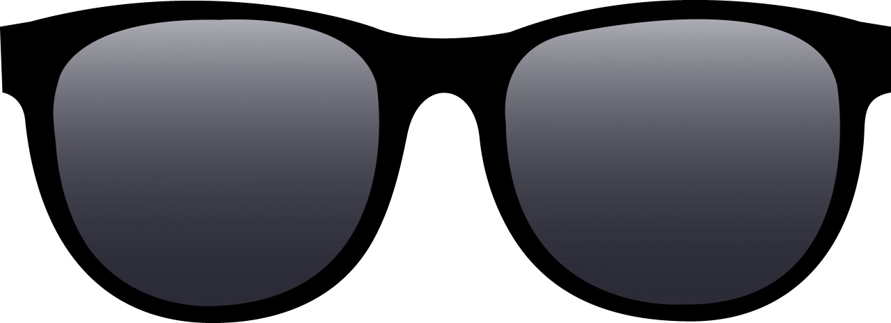 Free Png Sun Glasses Png Images Transparent - Clip Art Sun Glasses (850x308), Png Download