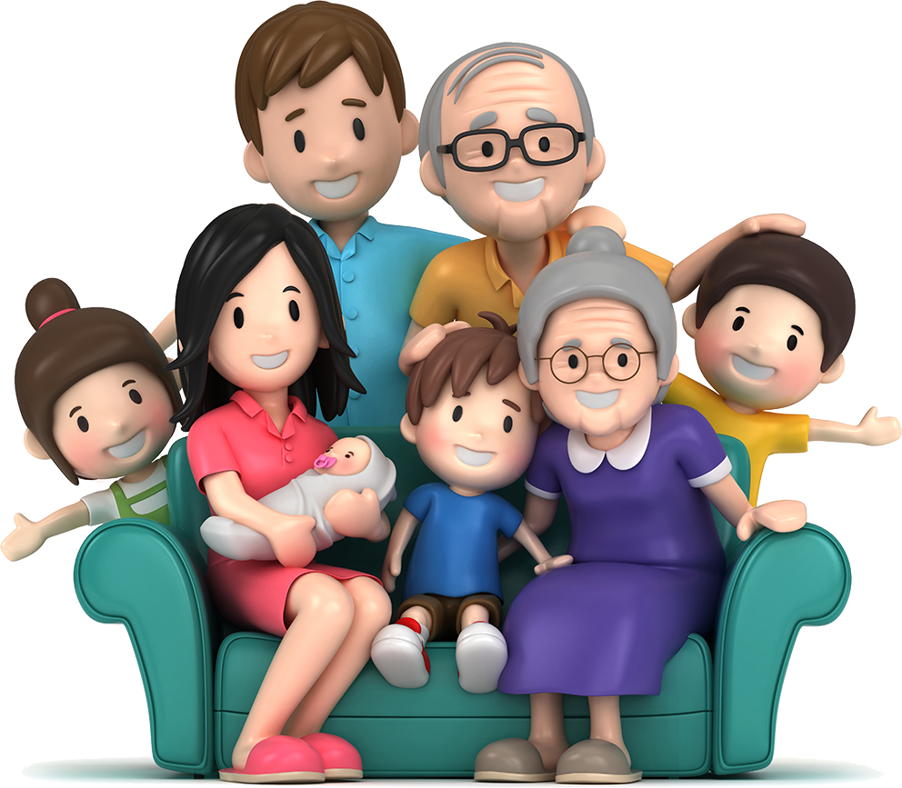 Download Free Download Happy Family Clipart Family Clip ... (992 x 867 Pixel)