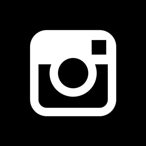 Instagram, Social, Media, Icon, Set, Network, Share, - Black Instagram Logo (640x640), Png Download