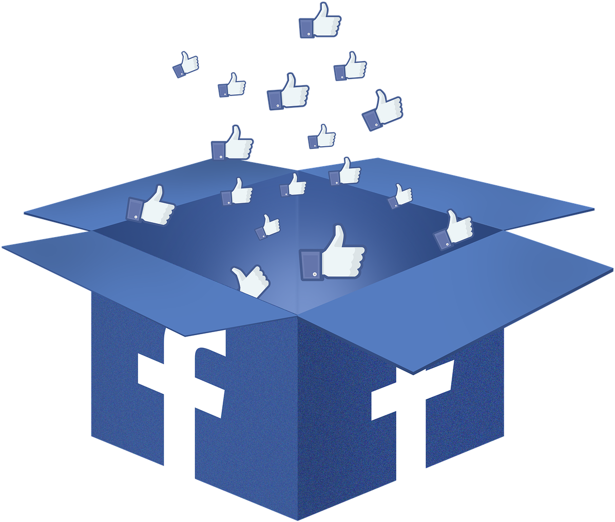 Facebook Likes Box - Facebook Likes Png (1280x1085), Png Download