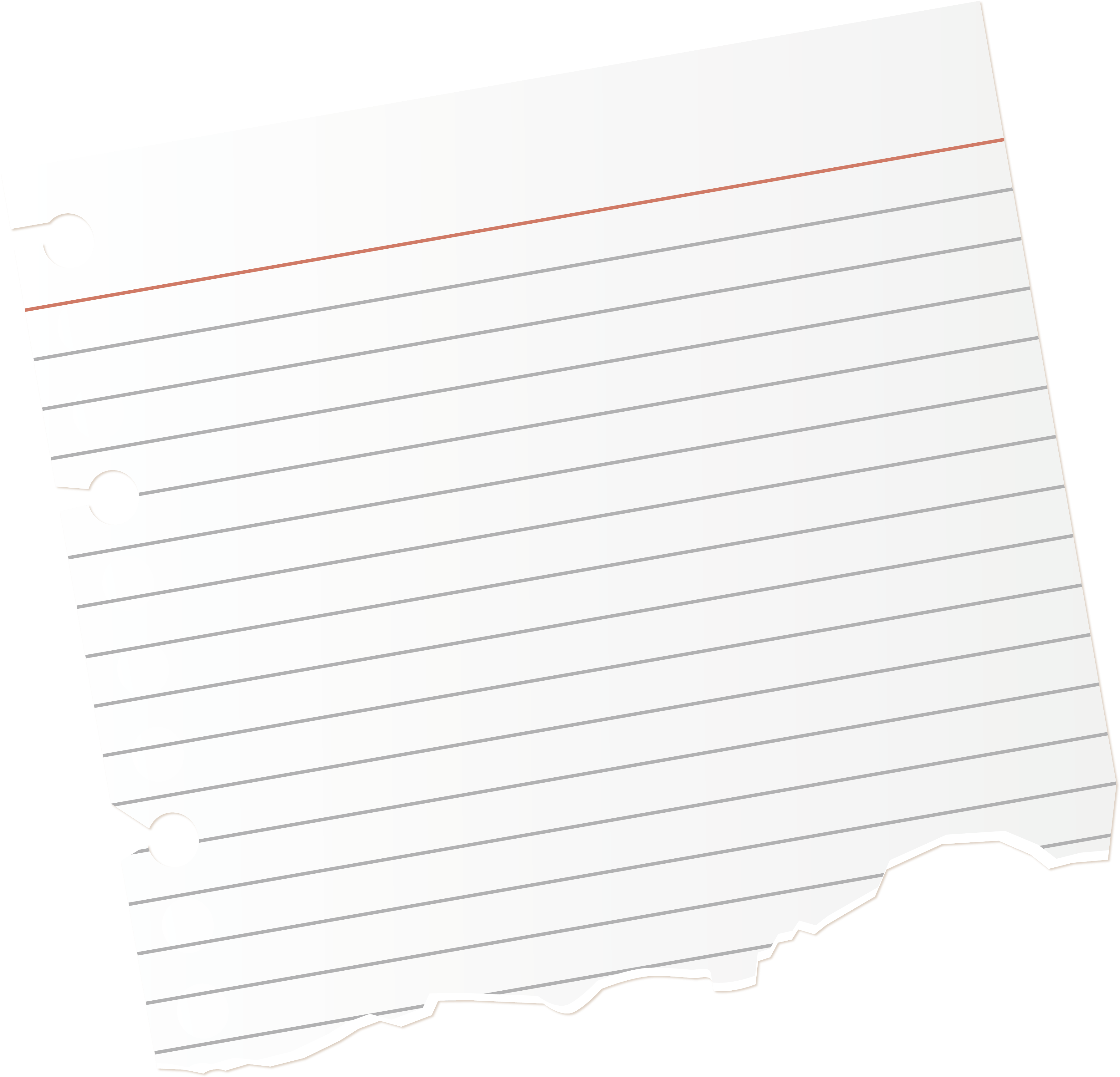 Download Torn Notebook Paper Png - Png Paper Torn PNG ...