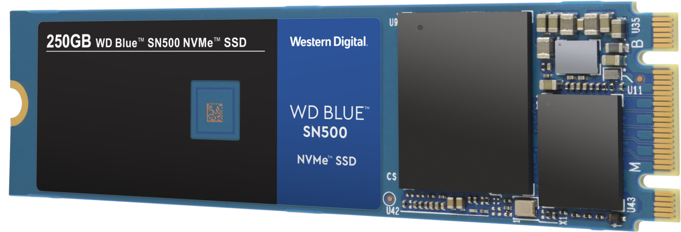 Wd Blue Sn500 Nvme Ssd - Western Digital Blue Sn500 Nvme (2048x1367), Png Download
