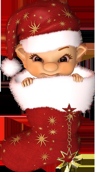 Cookie Png - Gif Bisou De Noel (315x570), Png Download