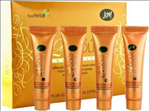Joy 24 Carat Gold Glow Kit Gold (500x500), Png Download