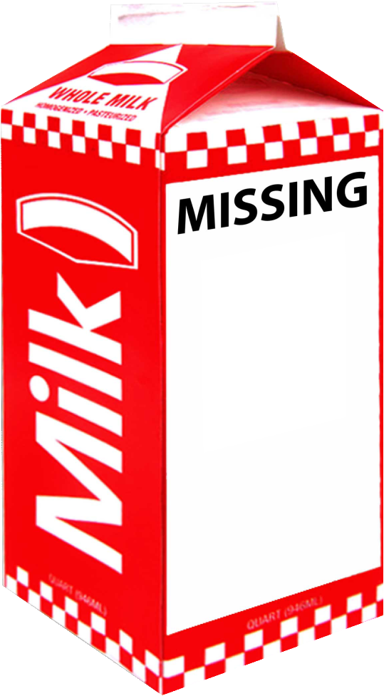 Download Missing Milk Carton Generator - Missing Milk