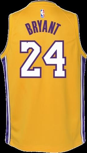 Kobe Bryant Youth Retirement - Kobe Bryant Jersey Png (500x667), Png Download