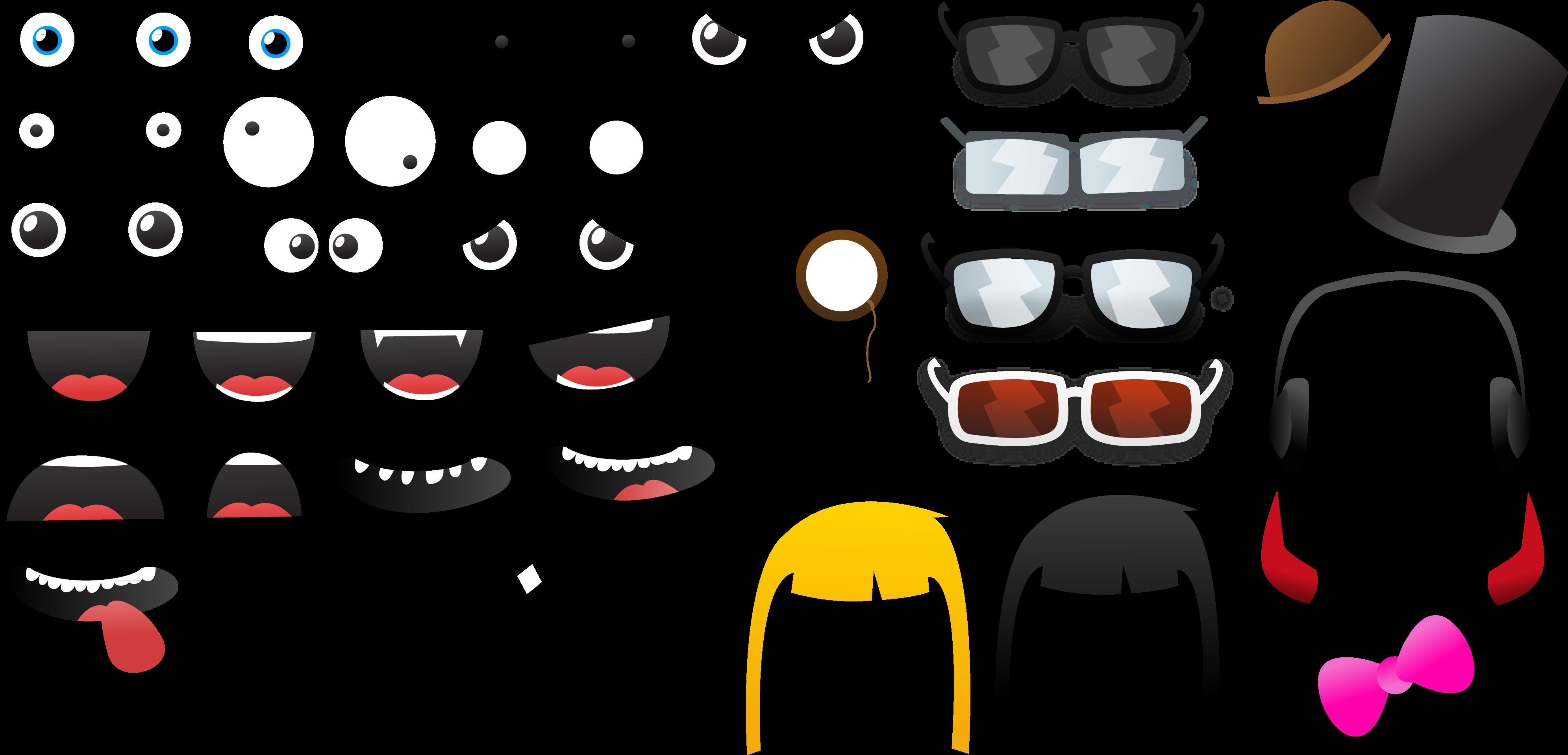 глаза для игры фоторобот семейные фото