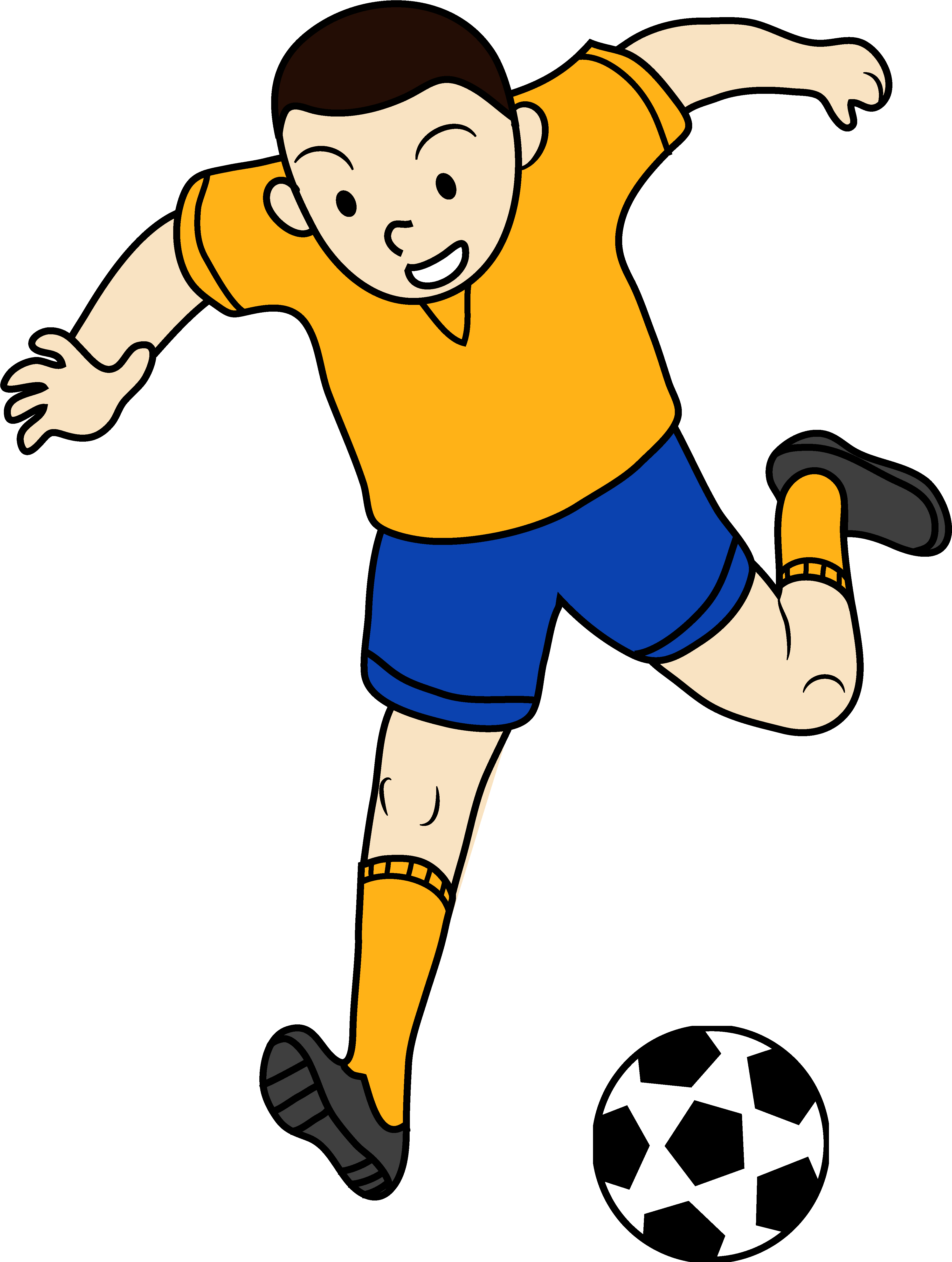 Download Kids Playing Sports Clipart Clip Art Playing Football Png Image With No Background Pngkey Com