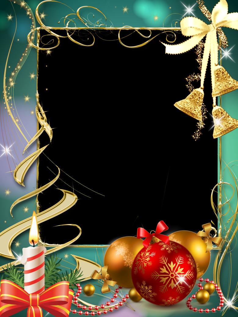 Новогодняя открытка шаблон фотошопа, красивыми розовыми