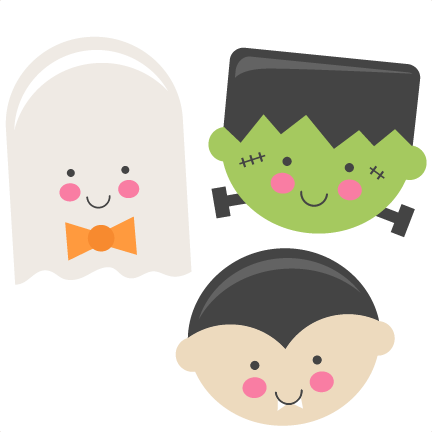 Download Picture Black And White Stock Halloween Monsters Ghost Cute Halloween Clip Art Png Image With No Background Pngkey Com