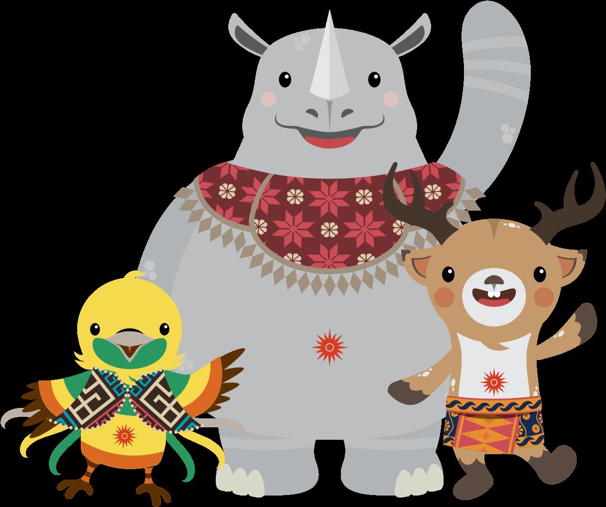 Download Maskot Asian Games 2018 Mascot Asian Games